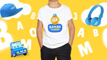 Logo design for a children's channel Bambo Jambo