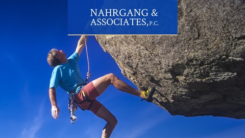 Web design and development for a law firm Nahrgang & Associates