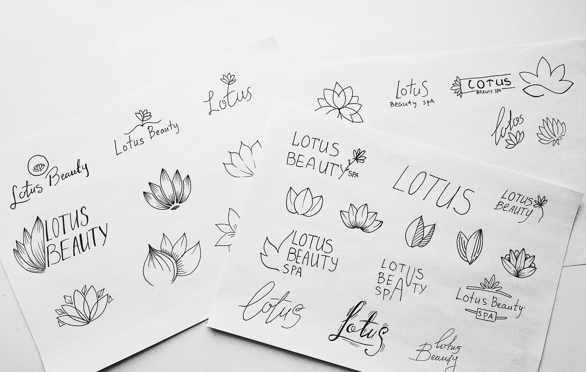 Sketch Lotus Beauty Spa