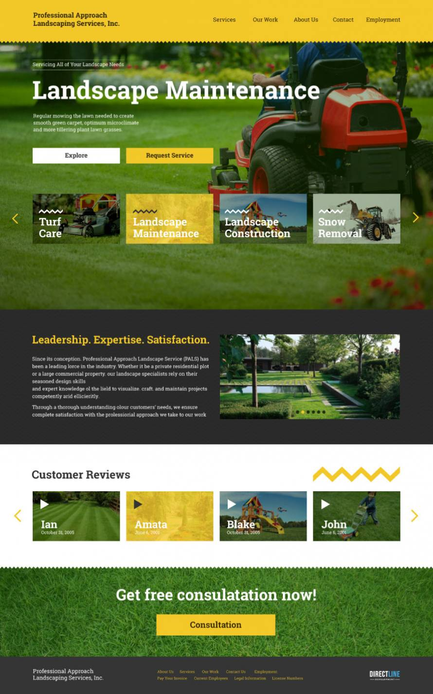 Professional Approach Landscaping Services Result