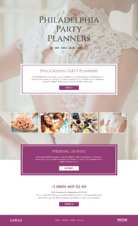 Philadelphia Party Planners Version of Design