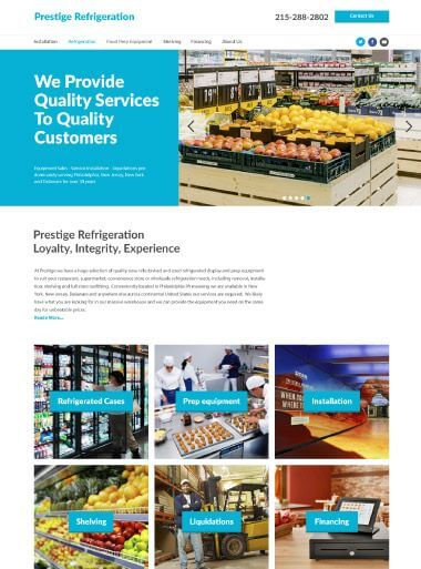 Prestige Refrigeration Version of Design