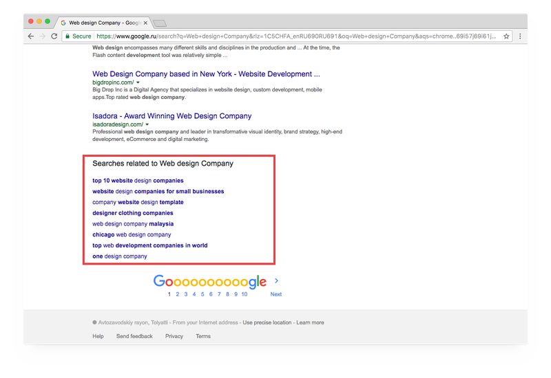 Collect words and phrases at your competitors' websites and view Google's recommended keywords, img 4