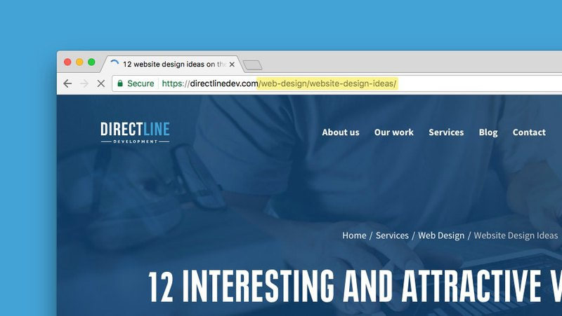 A second level URL for the most effective SEO