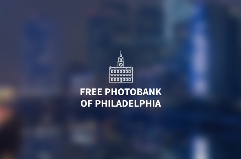 Logo development for Free Philly Photos