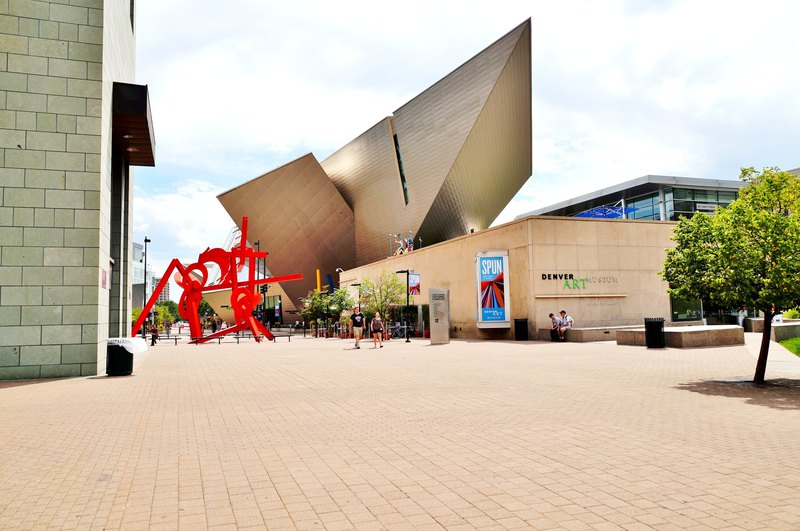 The Denver Art Museum (DAM)
