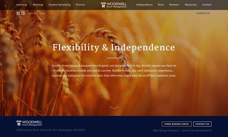 New Woodwell website