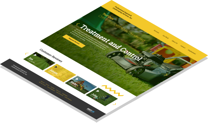 Professional Approach Landscaping Services Screenshot